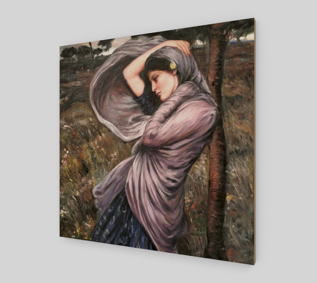 Boreas by John William Waterhouse | Fine Art Reproductions - Fine Art