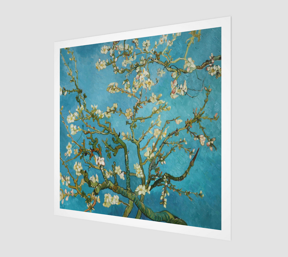 Branches with Almond Blossom by Vincent van Gogh | Fine Arts