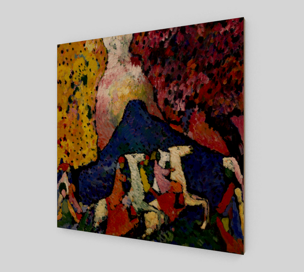 The Blue Mountain by Wassily Kandinsky | Canvas Fine Arts