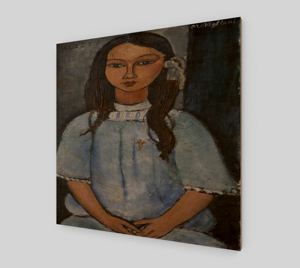 Alice by Amedeo Modigliani - Famous Paintings