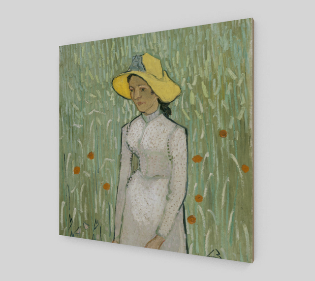 Girl in White by Vincent Van Gogh [Fine Art Reproductions]