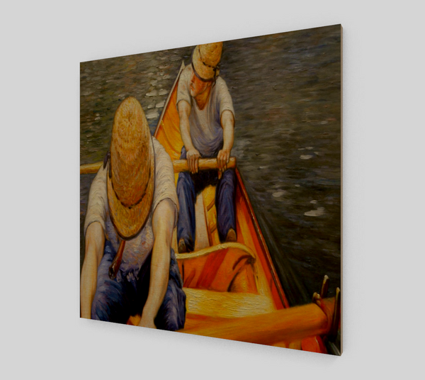 Oarsmen by Gustave Caillebotte | Fine Art Reproductions