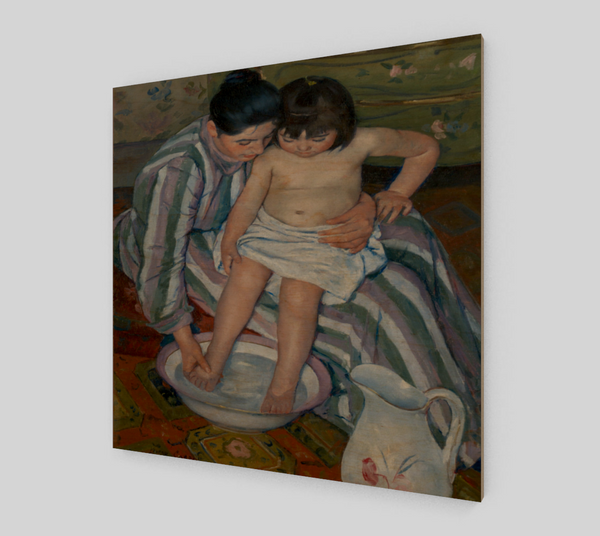 The Child's Bath by Mary Cassatt | Canvas Fine Arts