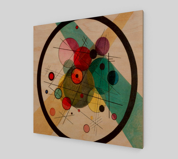 Circles in a Circle by Wassily Kandinsky | Canvas Fine Arts