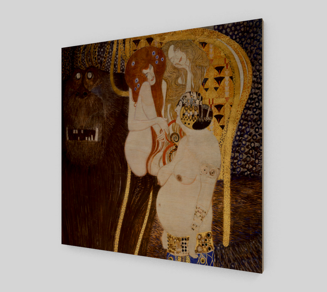 Beethoven Frieze by Gustav Klimt | Fine Art Reproductions