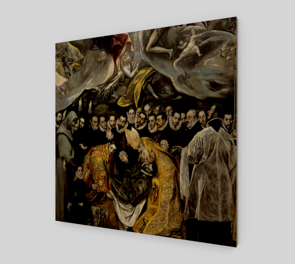 The Burial of the Count of Orgaz by El Greco | Canvas Fine Arts