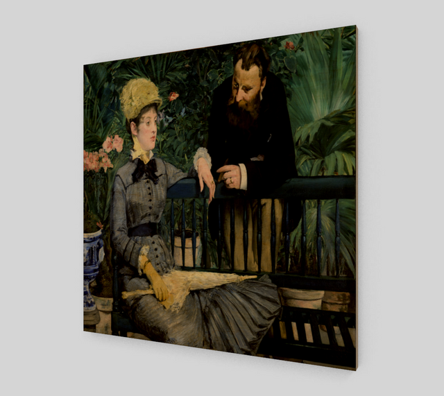 In the Conservatory by Édouard Manet | Fine Art Prints