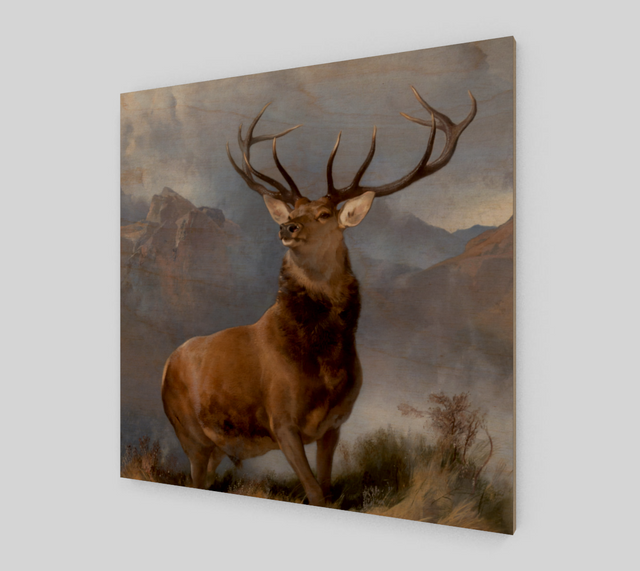 The Monarch of the Glen by Sir Edwin Henry Landseer