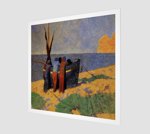 The Fourteenth of July at Etretat by Felix Vallotton | Fine Art