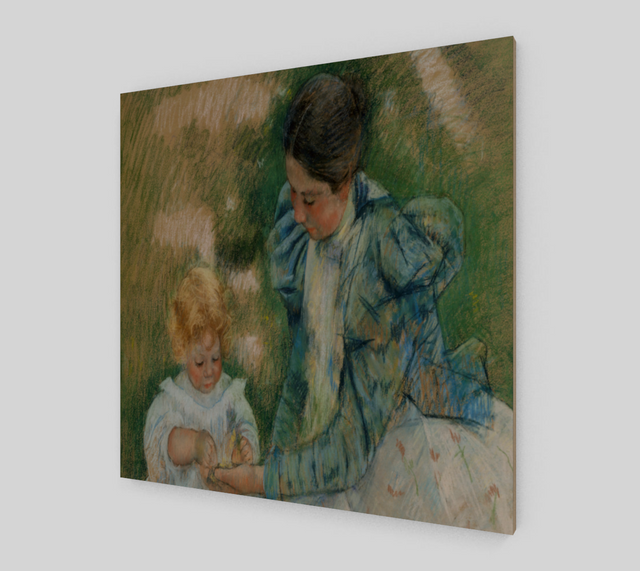 Mother Playing with Child by Mary Cassatt | Canvas Fine Arts