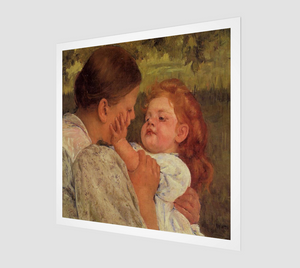 Maternal Caress by Mary Cassatt