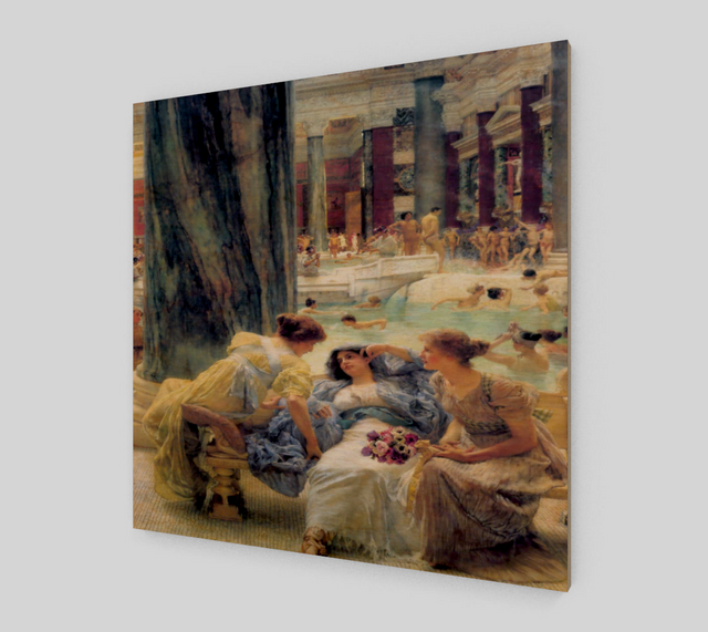 The Baths Of Caracalla by Lawrence Alma Tadema | Fine Arts Prints