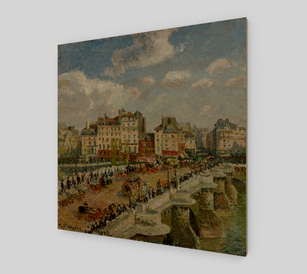 Le Pont Neuf by Camille Pissarro