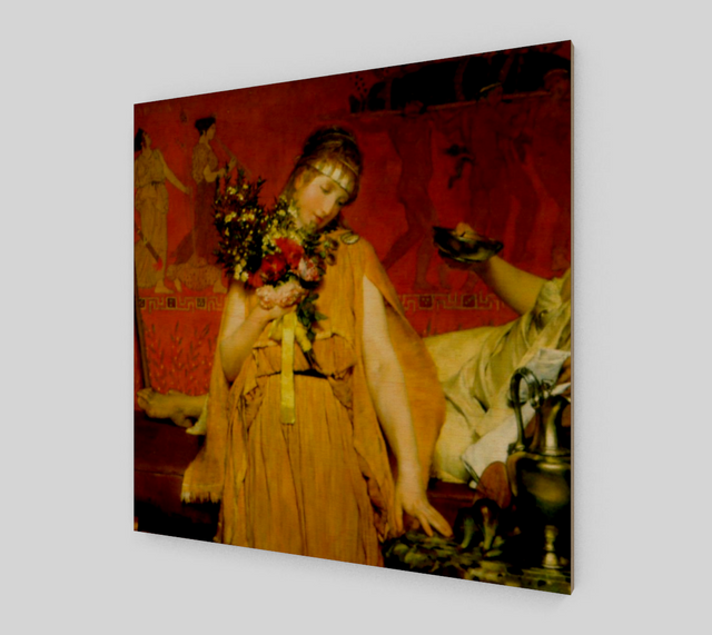Between Hope and Fear by Lawrence Alma Tadema | Fine Arts Prints - Fine Art