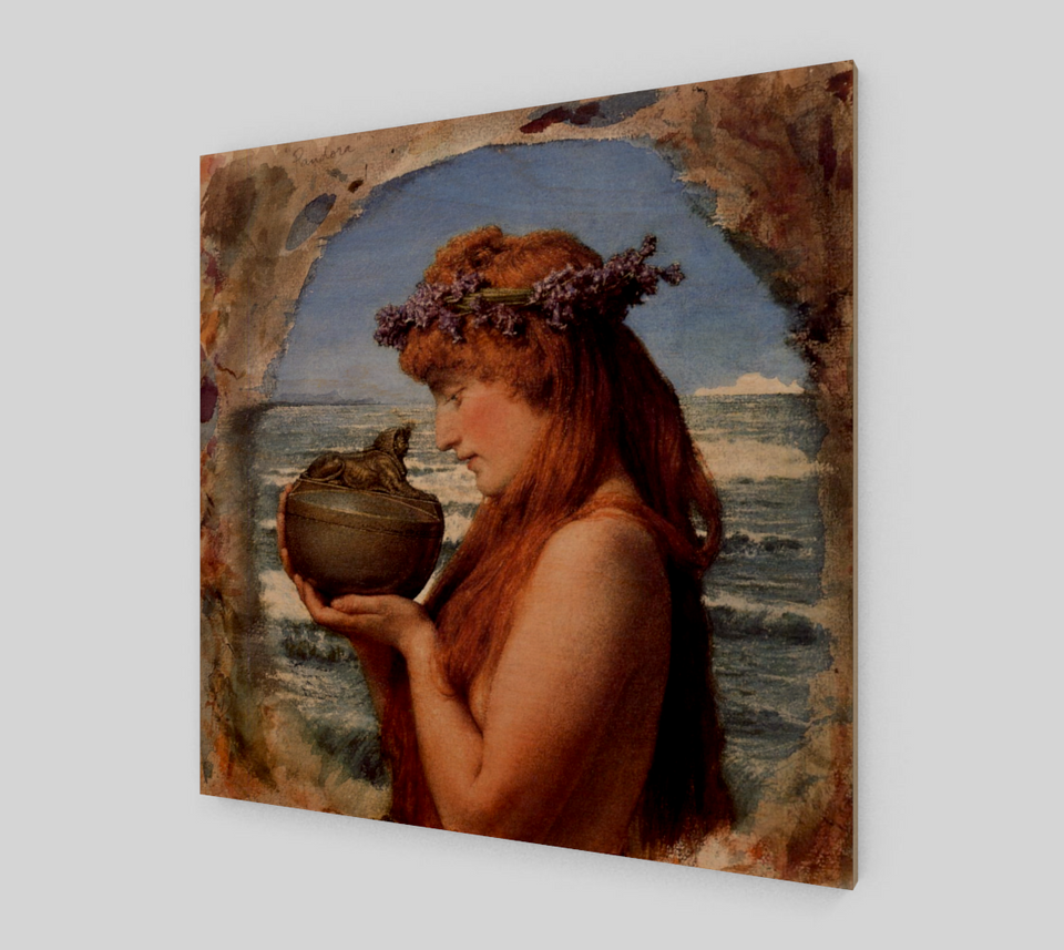 Pandora by Lawrence Alma Tadema | Fine Arts Prints