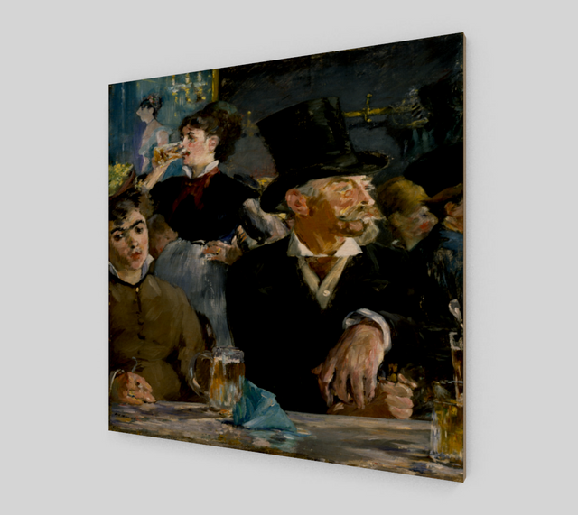 The Café-Concert by Édouard Manet | Fine Art Prints On Canvas