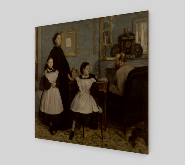 The Bellelli Family by Edgar Degas | Fine Art Reproductions
