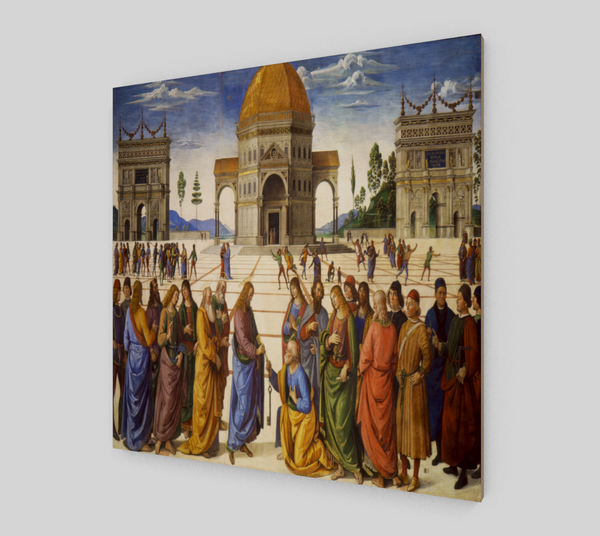 The Delivery of the Keys by Pietro Vannucci Perugino