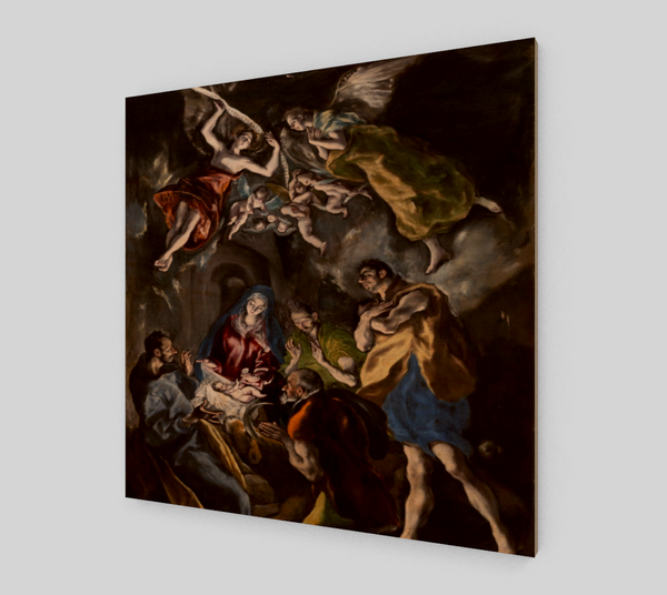 The Adoration of the Shepherds by El Greco | Canvas Fine Arts