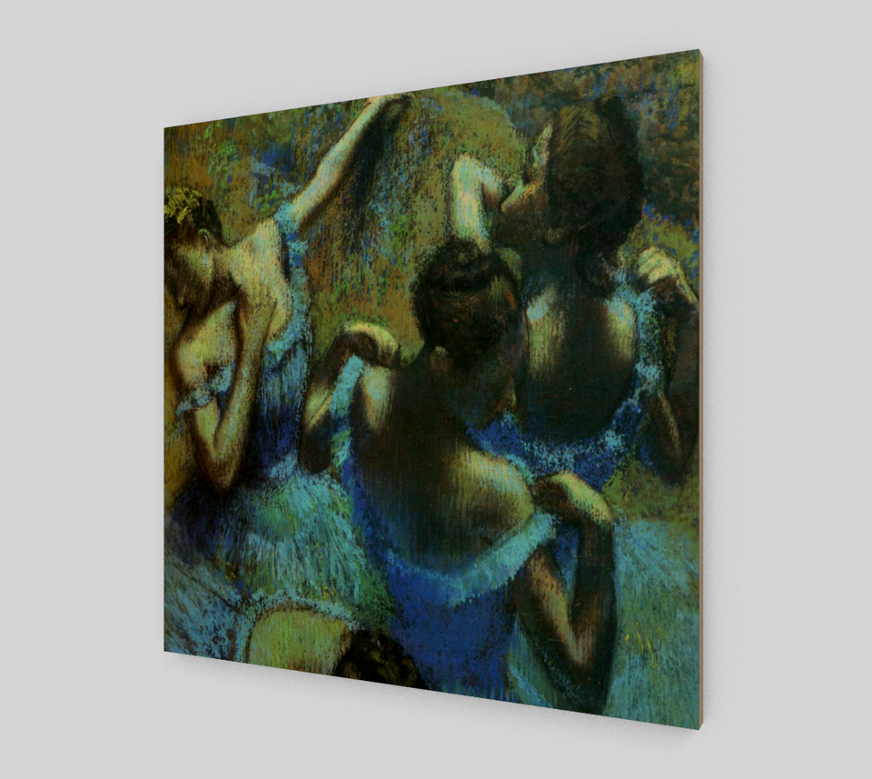 The Blue Dancers by Edgar Degas
