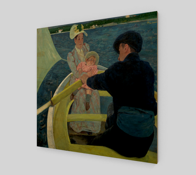 The Boat Trip by Mary Cassatt | Fine Art Reproductions