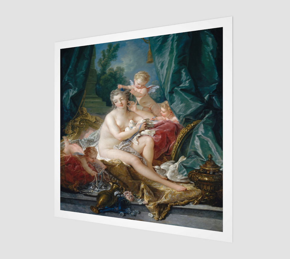 The Toilet of Venus by François Boucher