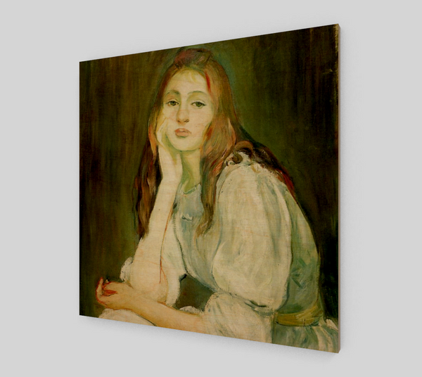 Julie Daydreaming by Berthe Morisot [Fine Art Reproductions]