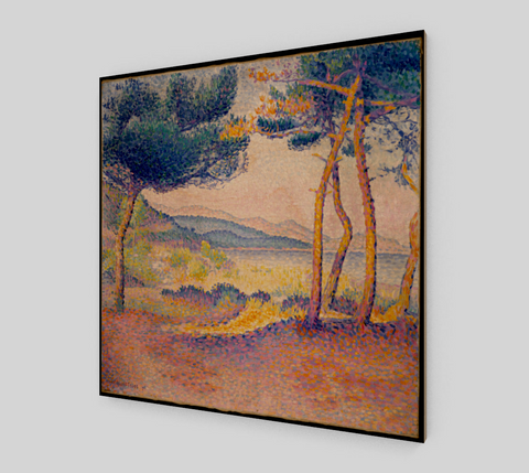 Pines Along the Shore by Henri Edmond Cross