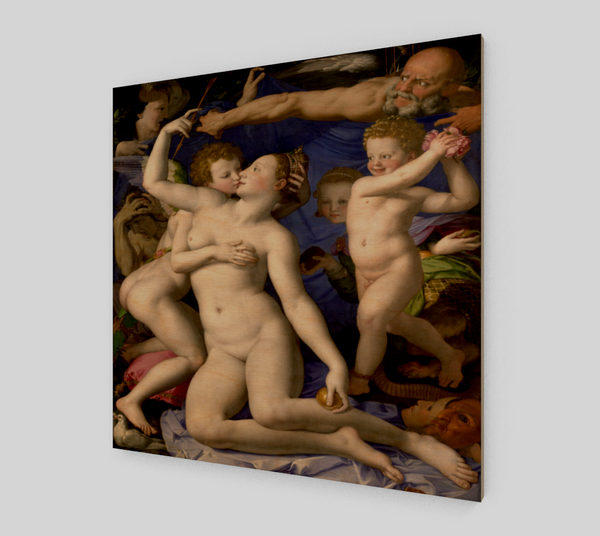 Venus, Cupid, Folly and Time By Angelo Bronzino [Acrylic Wall Art]