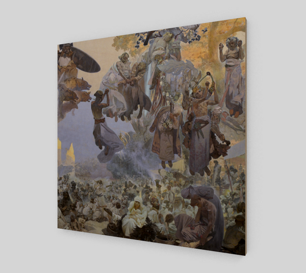 The Celebration of Svantovít by Alphonse Maria Mucha | Canvas Fine Arts