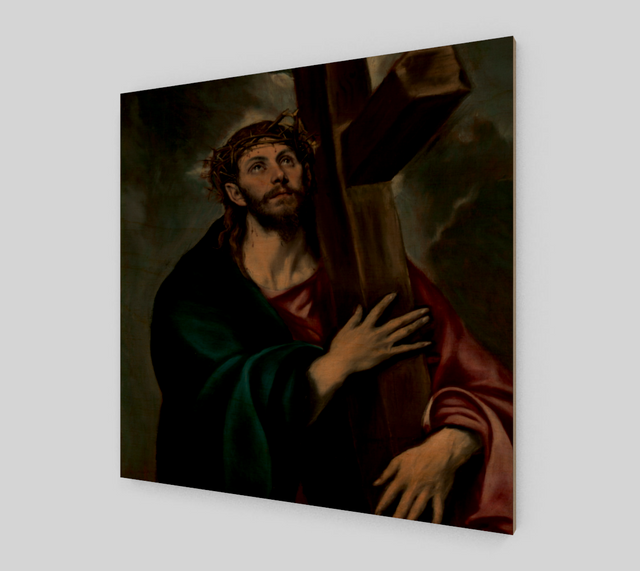 Christ Carrying the Cross by El Greco | Canvas Fine Arts