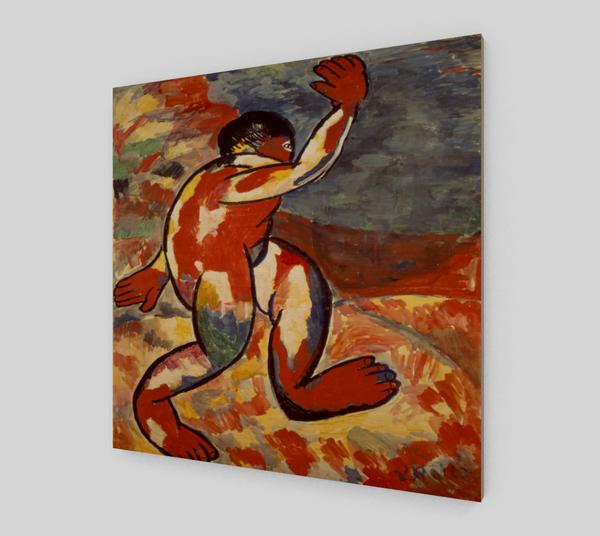 Bather by Kazimir Malevich