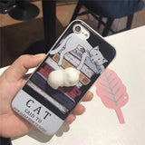 Ovasmart Cat Said / for I7 Squishy 3D Phone Case for iPhone