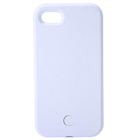 Ovasmart White / For 5 5S SE NEXT GEN LED SELFIE CASE FOR IPHONE AND SAMSUNG