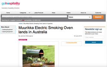 Muurikka Electric Smoker Product Review | Go Hospitality