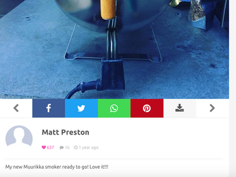 Muurikka Electric Smoker Ready to Go | Love It | Matt Preston