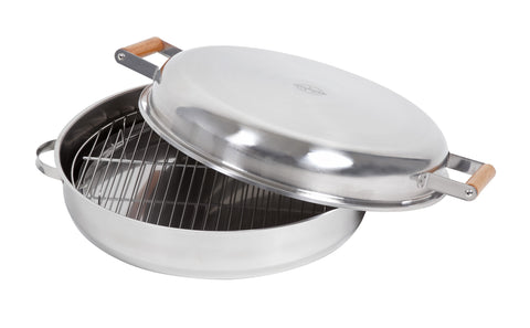 BBQ Smoking Pan | Use Over Open Fires