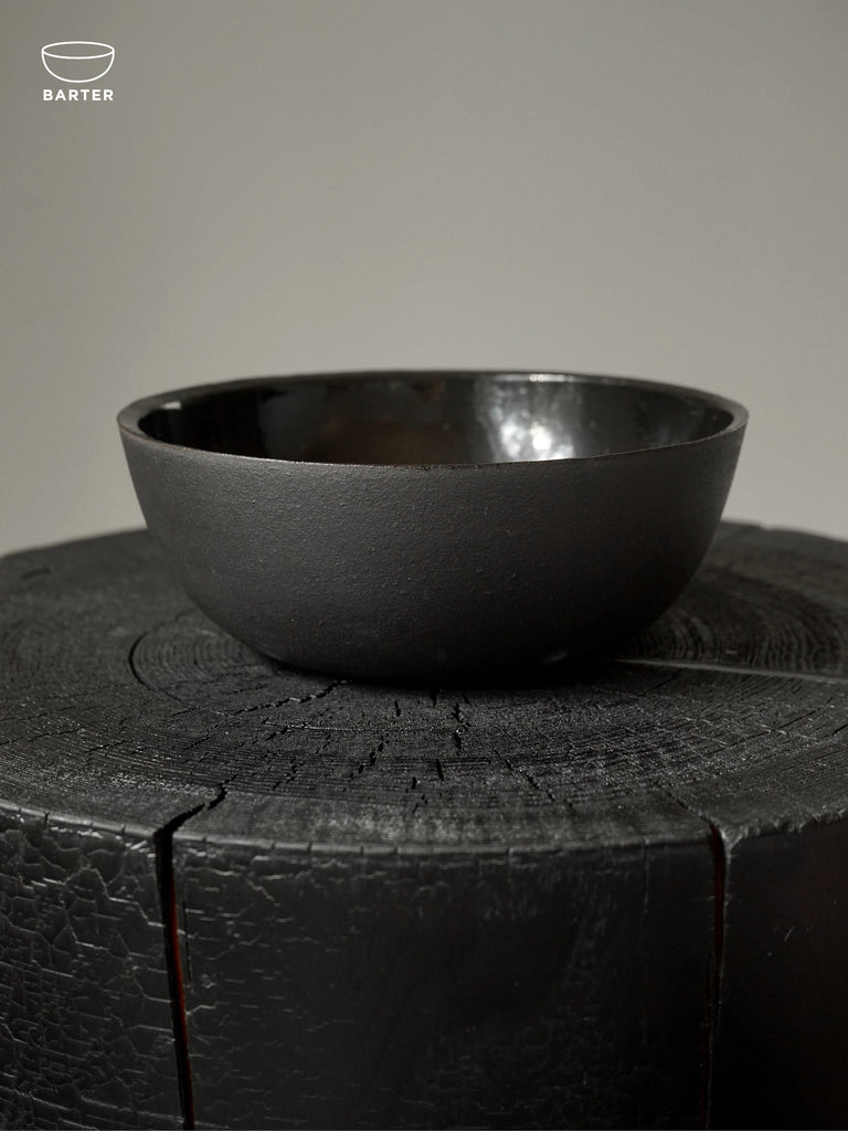 SET/2 BLACK ON BLACK - SHARING BOWLS