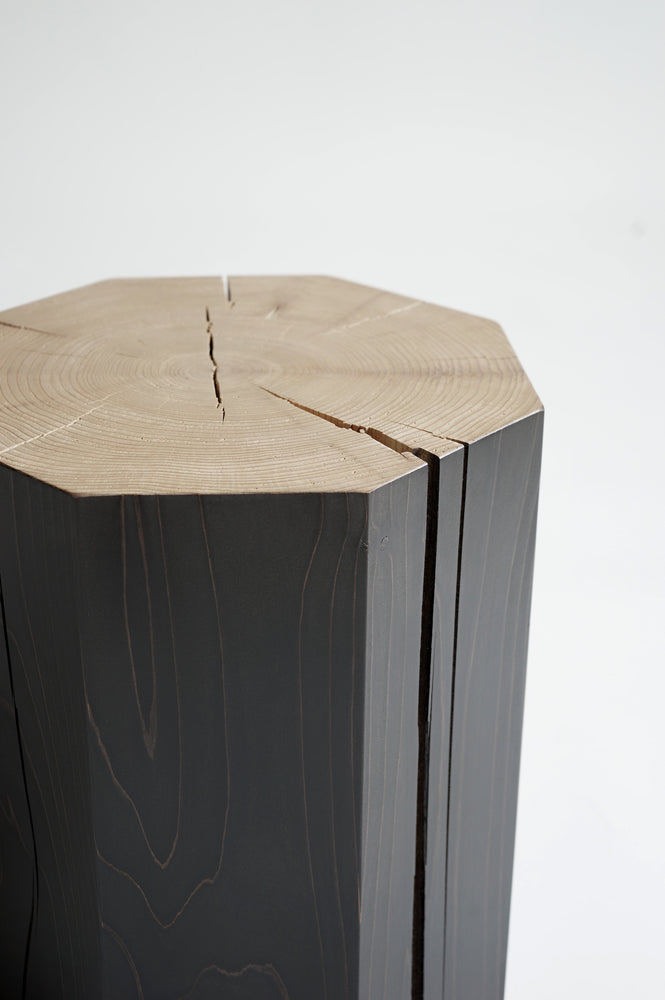 Load image into Gallery viewer, Hex Wooden Stool