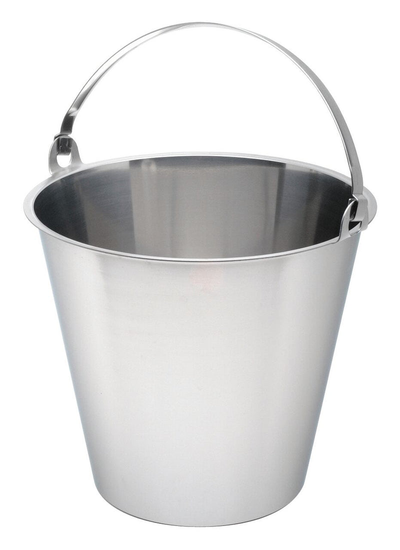 Swedish S/St. Bucket 15 Litre Graduated