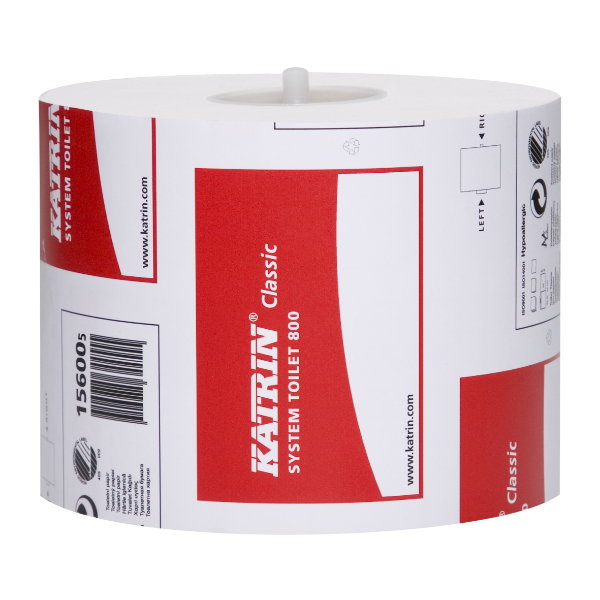 Katrin Classic System 800 Toilet Roll 96m 99mm (36 pack)