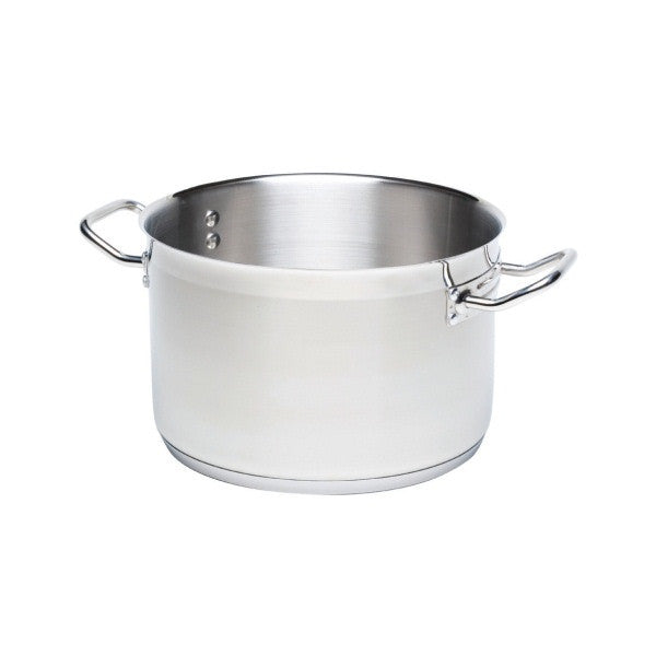 Stockpot (No Lid) 50L 40cm Dia 40cm High18/4 s.steel