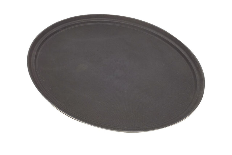 "Tray Fibreglass Oval 31"" Black"