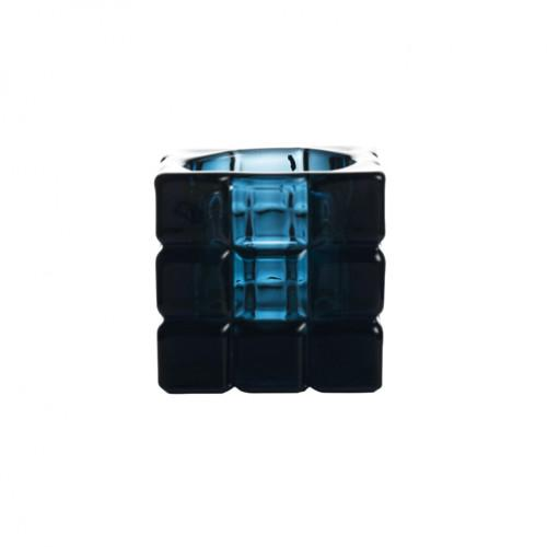 Tealight Holder Square Blue (box of 36)