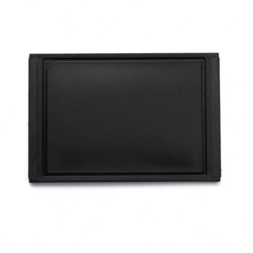 Cutting Board Non Slip Black 35 x 23.6 x 1.2 cm