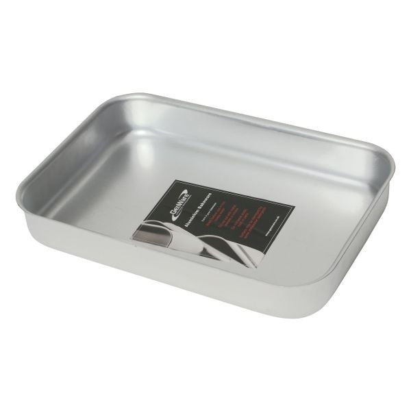 Baking Dish-No Handles 370 X 265 X 70mm Aluminium