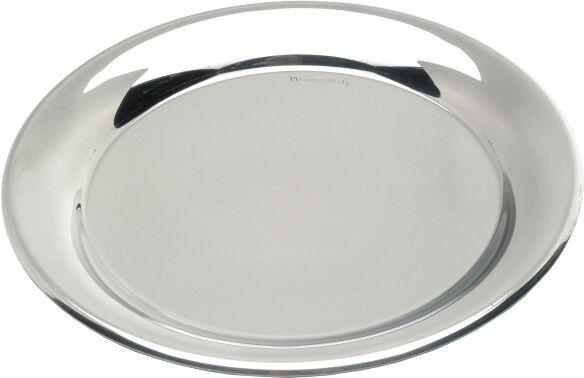 "S/St.Tips Tray 5.1/2""Dia.(140mm)"