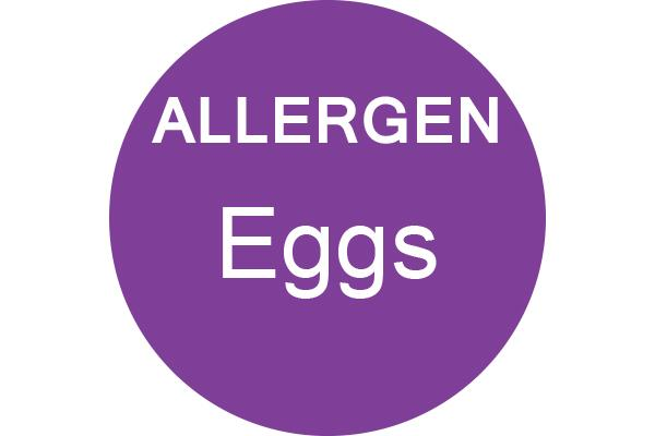 EGGS - Dot Label- Box of 1000
