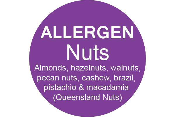 NUTS - Dot Label- Box of 1000