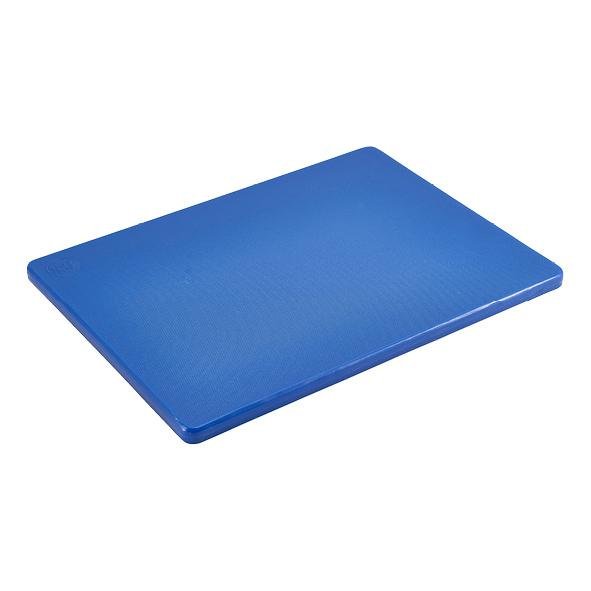 "Blue 1/2"" Low Density Small PE Cutting Boards"